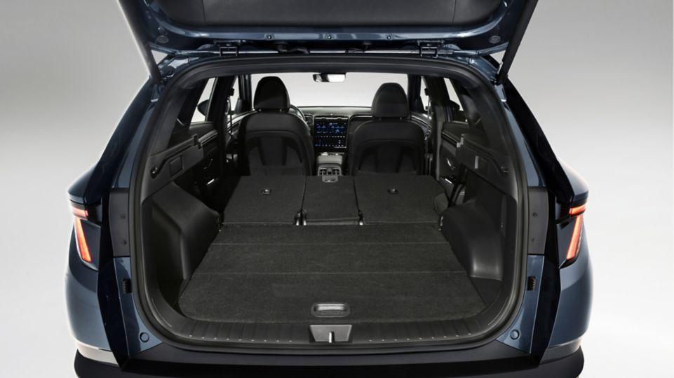 Volume du coffre New Tucson Hyundai - Garage Thaon Brignoles