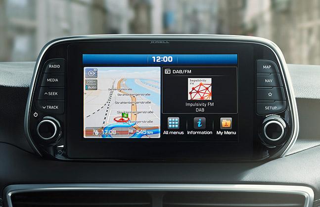 Ecran multimédia 8 pouces - Hyundai Tucson - Garage Thaon Brignoles